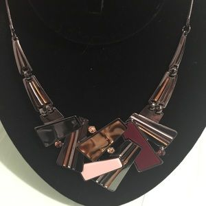 Statement Necklace Looks like Artwork Marked